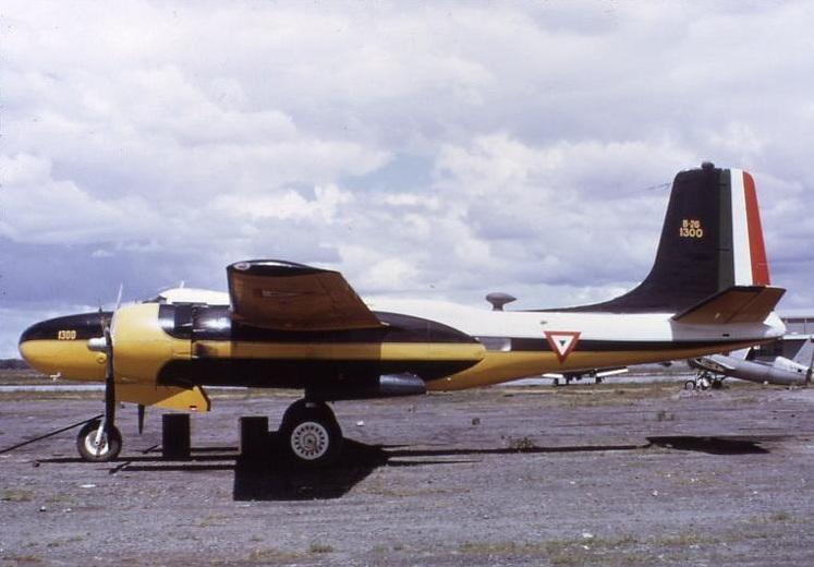 B-26 en Servicio de la FAM: Mex00