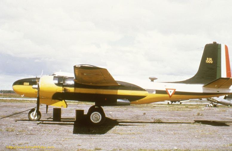 B-26 en Servicio de la FAM: Mexico26b-26