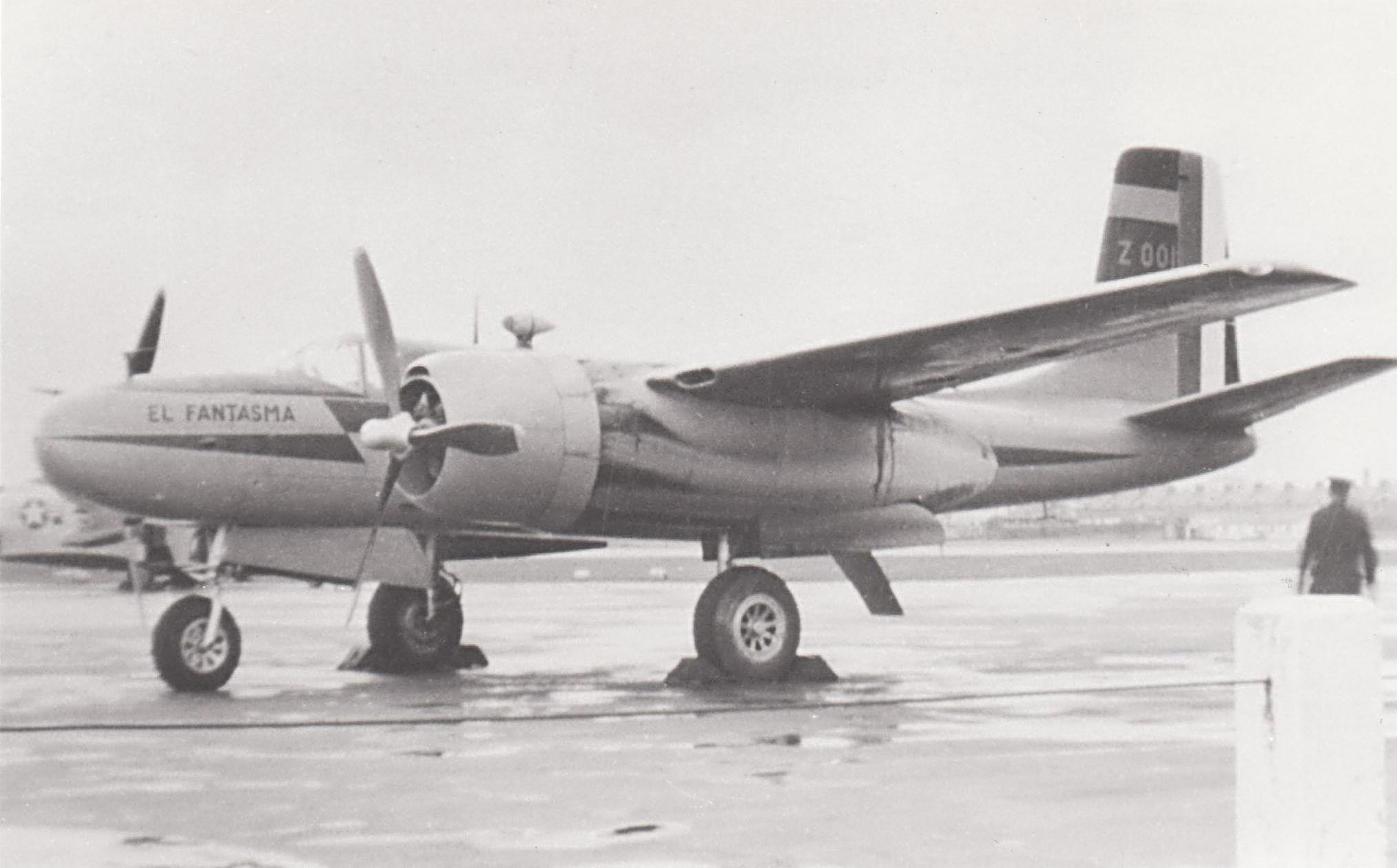 B-26 en Servicio de la FAM: Vectarisletter