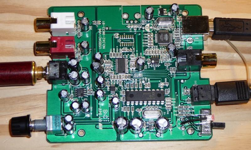 Il DAC 24bit / 192kHz Super Economico di Troniteck a 59euro Usbdacv06
