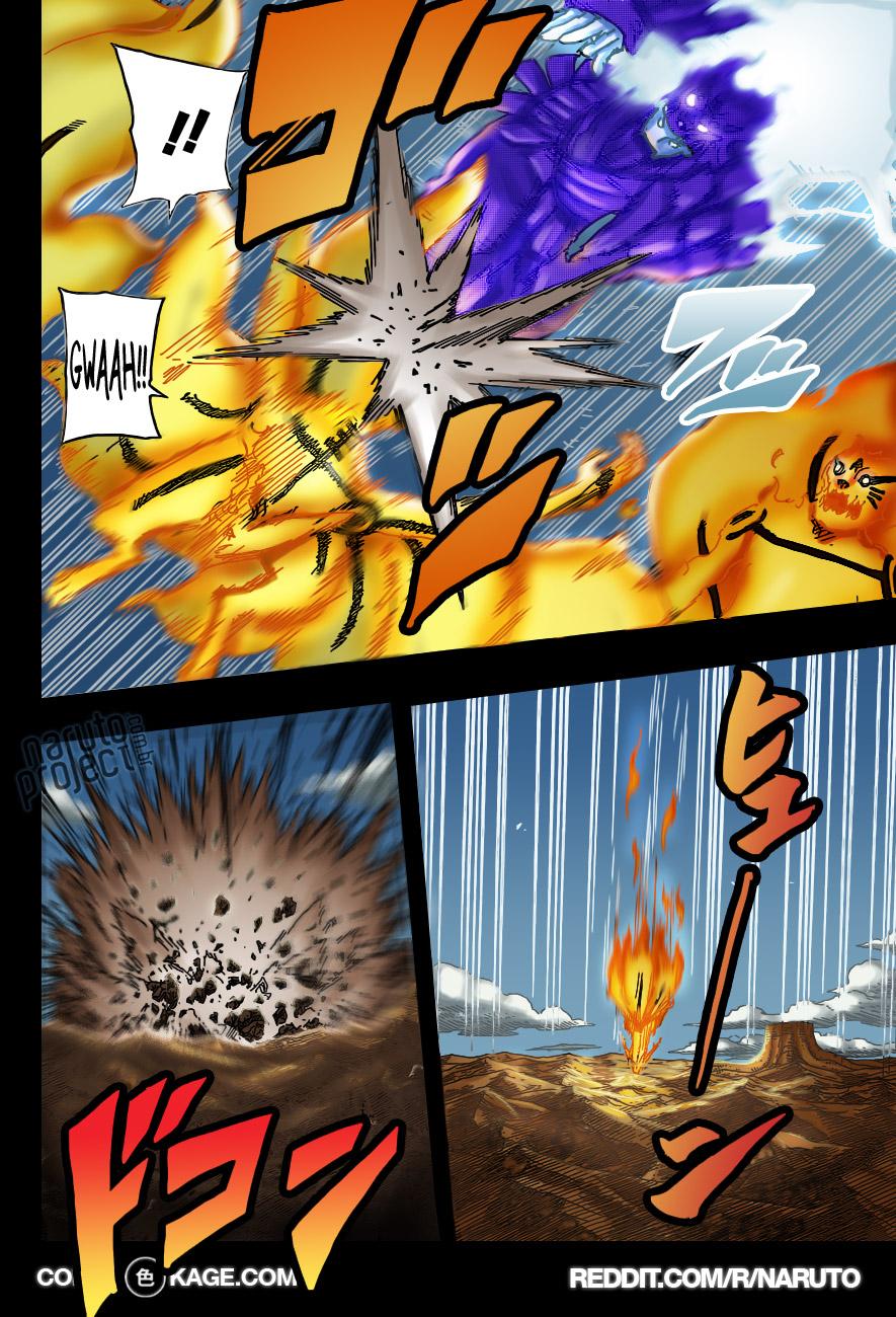 Sasuke vs Hashirama e Madara  10