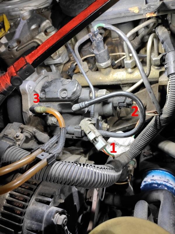 [ Renault Mégane 1.9 dCi 105 an 2001 ] Ne Démarre pas Pompe