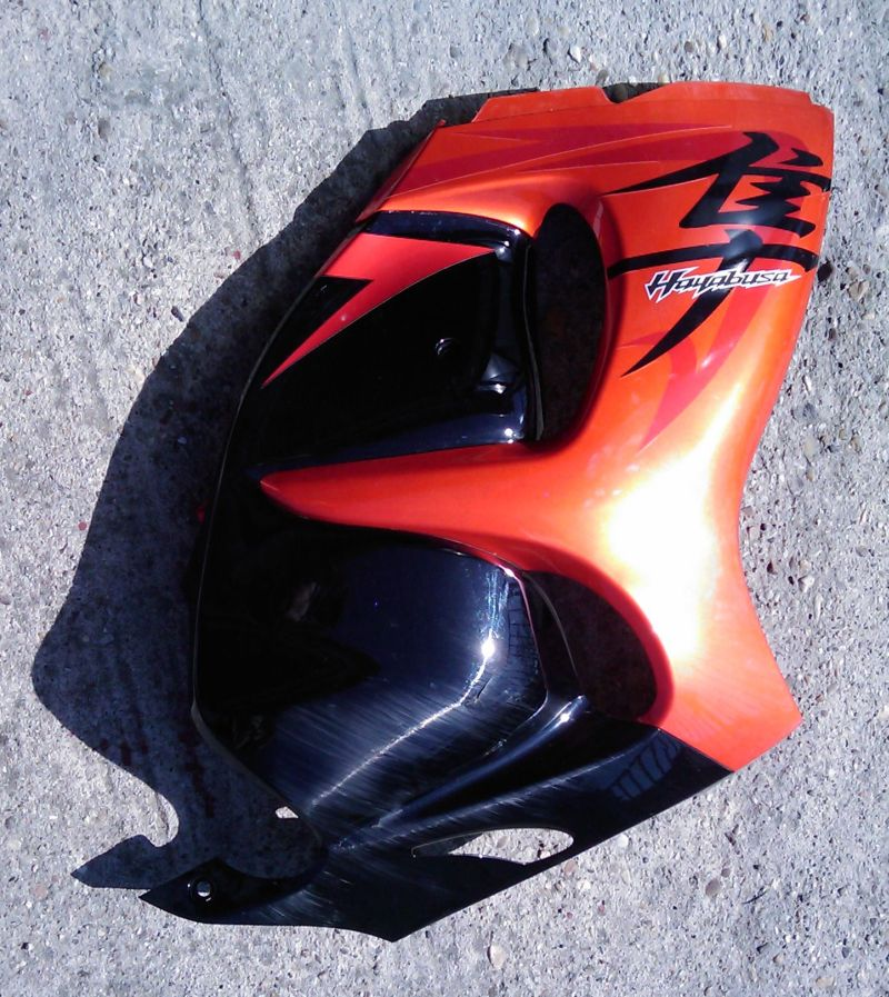 I sell original OEM fairing for Hayabusa GEN II - predam plasty Hayabusa GEN II  Suzuki_hayabusa_2008_right_side_fairing