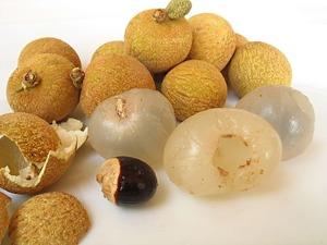 Экзотические фрукты ( фото, название, описание ). Longan