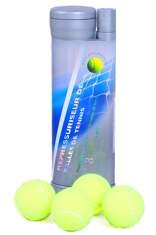 Nouvelle invention ! Le repressuriseur prolonge 3 fois la durée de vie de balles avec pression et maintient le rebond de balles constant 354-1400-thickbox