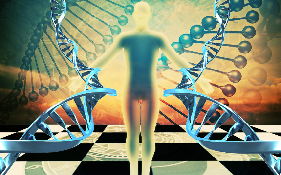 Beyond Deterministic Genes: The Morphogenetic Field Dna_spiritual_field