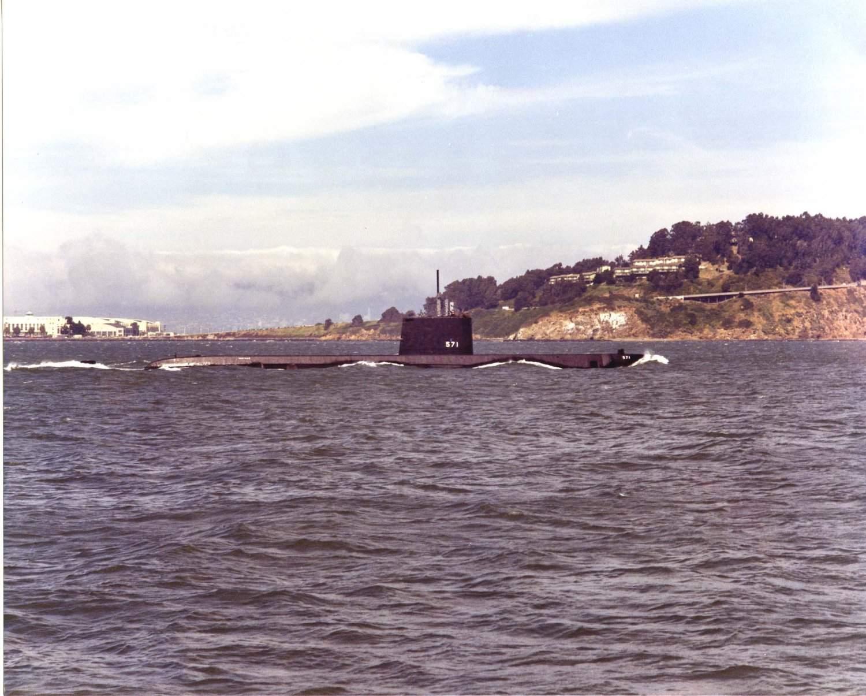 SOUS MARIN NUCLEAIRE D'ATTAQUE USS NAUTILUS 0857122