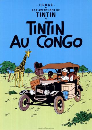 Les aventures de Tintin Herge-georges-remi-tintin-au-congo-c-19312