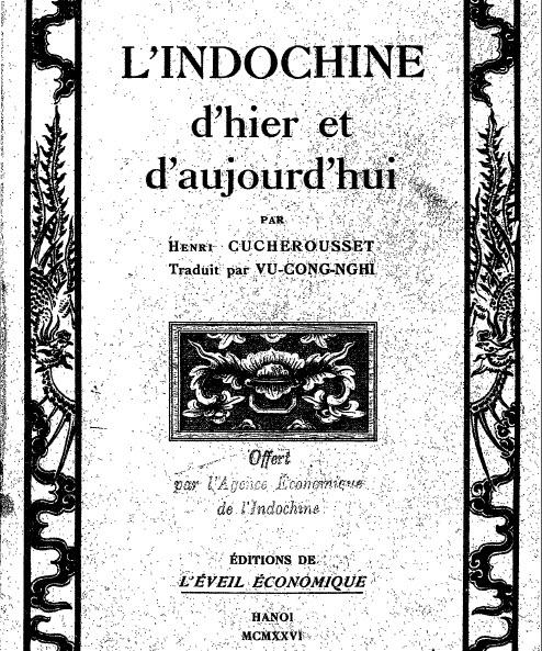 Kho sách cổ - 藏經閣 Indochine