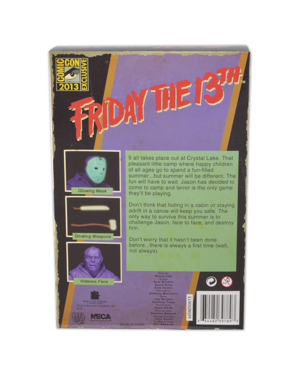 "[NECA] Jason Vorhees: NES ""Friday the 13th"" game SDCC 2013 Exclusive 39789-SNES-Jason-SDCC13-Pkg2"