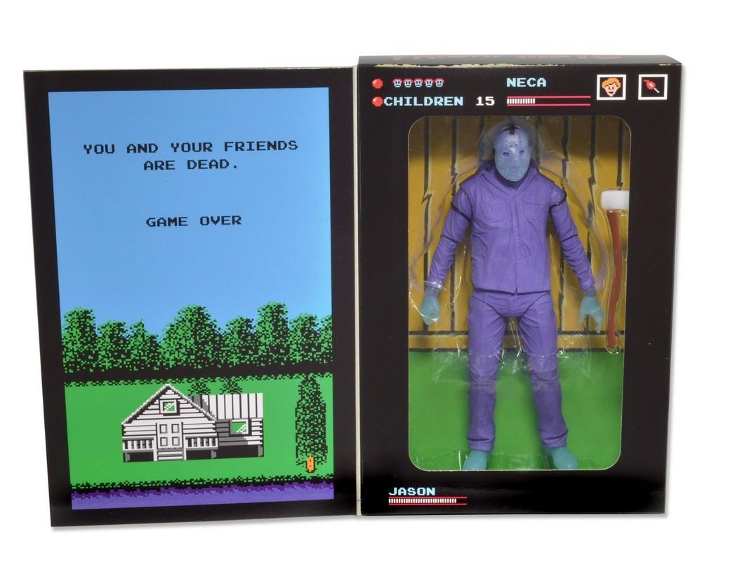 "[NECA] Jason Vorhees: NES ""Friday the 13th"" game SDCC 2013 Exclusive 39789-SNES-Jason-SDCC13-Pkg4"