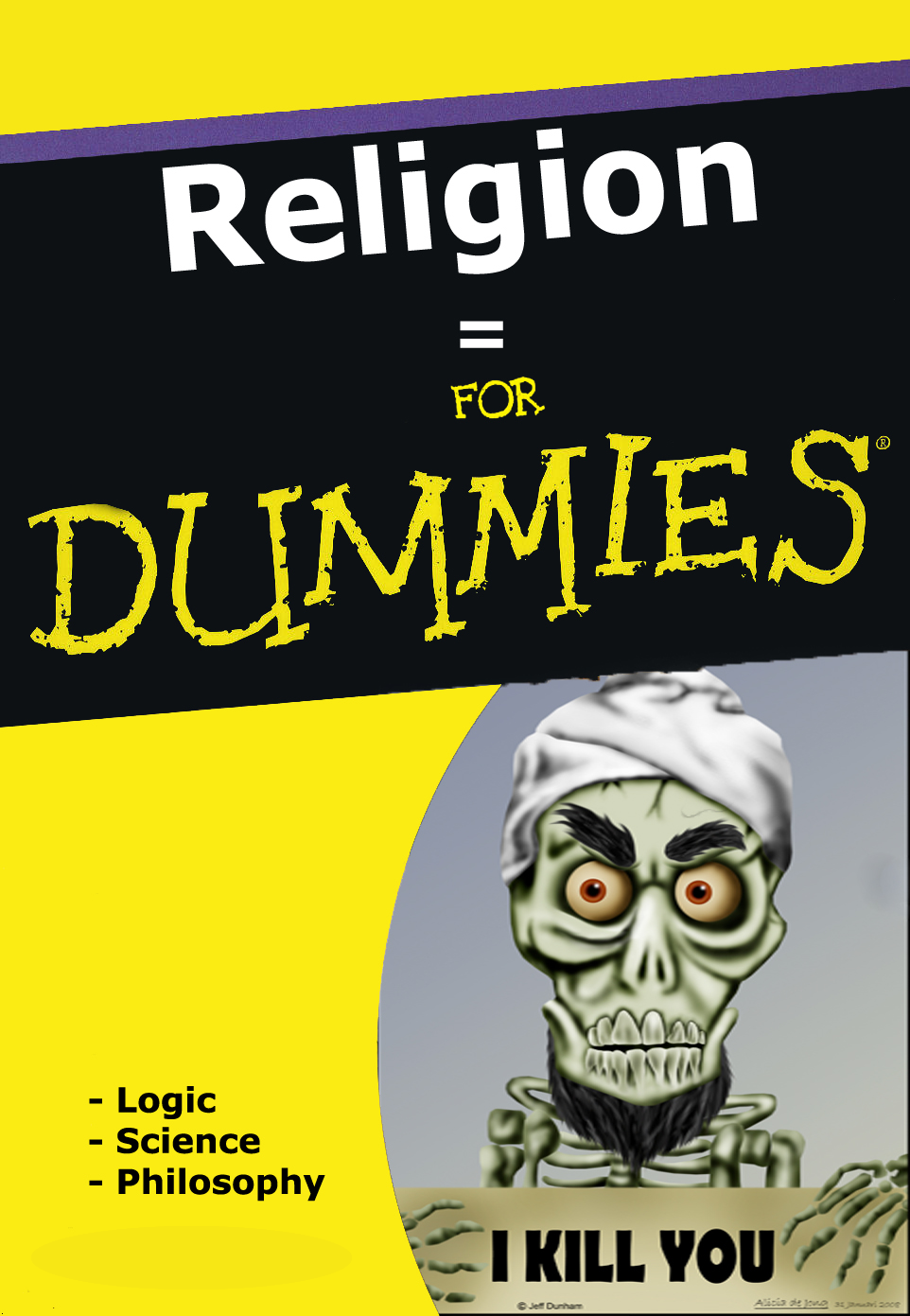The United States of the Solar System, A.D. 2133 (Book Six) - Page 13 Religionfordummies