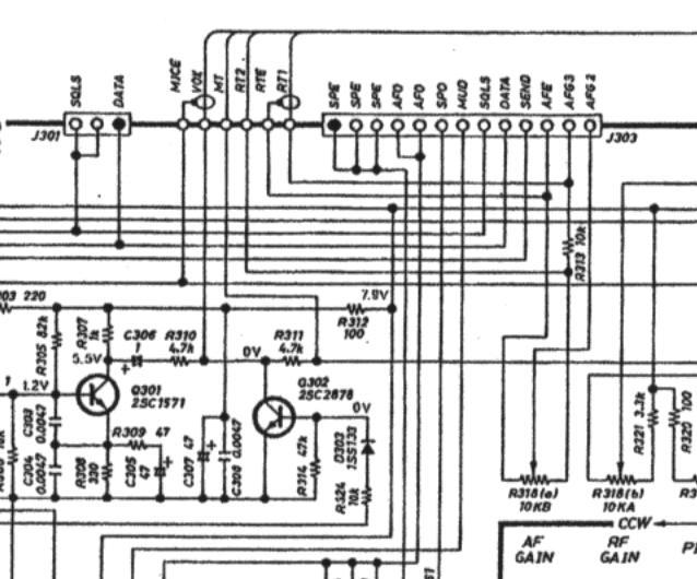 ICOM IC765 : Présence de BF / Tonalité en émission 04-af-vr-unit-AF-Gain