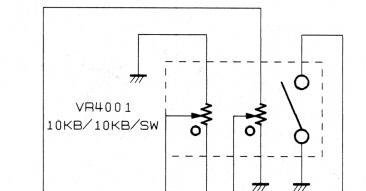 YAESU FT8100R : Recherche du potentiomètre de volume/squelch Potentiometre-volume-ft8800