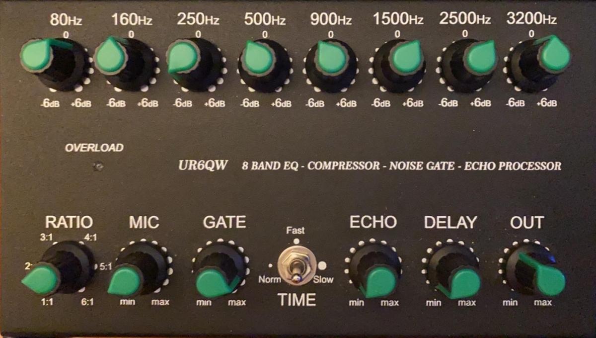 Yaesu FTdx101 : Audio en émission eSSB, réglage de l'équalizer UR6GW avec Micro Neewer NW5200 Settings-equalizer-ur6qw-ftdx101