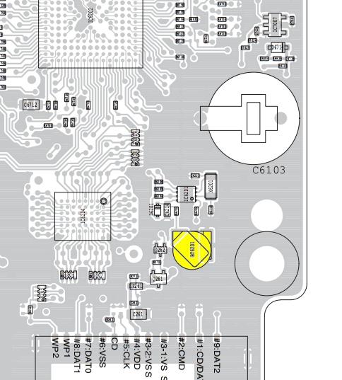 ICOM IC7100 : Panne accumulateur / Batterie interne - Perte de l'heure Ic7100-emplacement-batterie