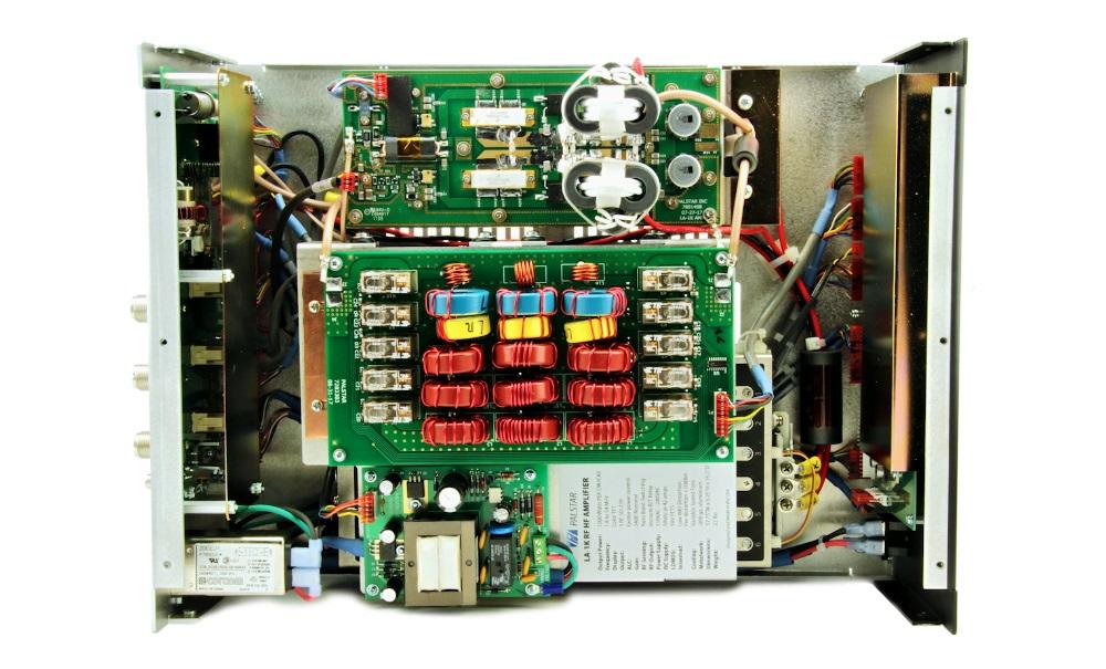 Palstar Amplificateur HF à transistors LA-1K La1k-inside