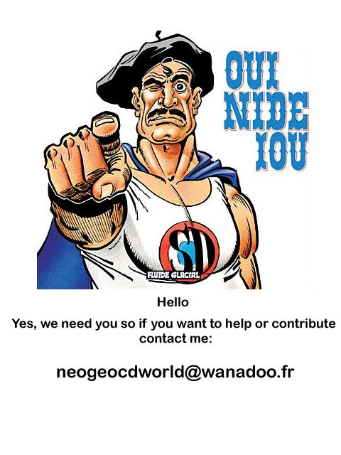 Base Neo Geo CD Superdupont