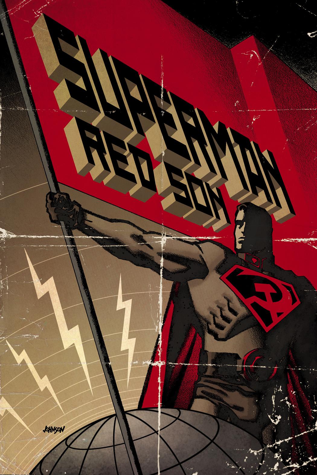 Vos lectures de livres avec des Images - Page 6 Superman-Red-Son