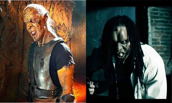 Mortal Kombat : legacy Comparison