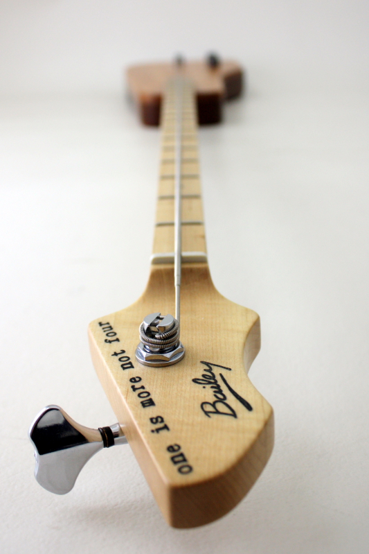 Novo endorse Fodera Thiago Espirito Santo 1342bailey-custom-one-string-bass