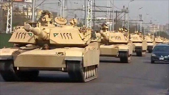 افاق التعاون العسكري المصري-السعودي وتأثيره على ميزان القوة مع الكيان الصهيوني - فريق الأسد - _51040449_tanks