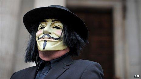 V for Vendetta _56170412_maskedprotester_afp