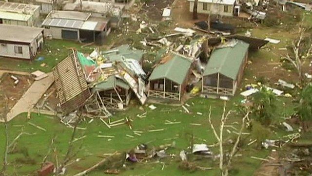 Massive tornadoes wreak havoc in Australia: 20 injured _66546576_66546575