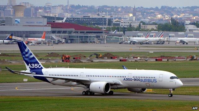 Airbus A350  _68169143_68169142