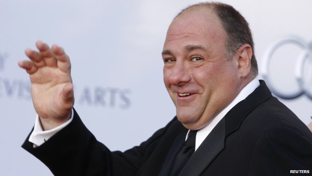 Sopranos star Gandolfini dies suddenly _68273455_68273454