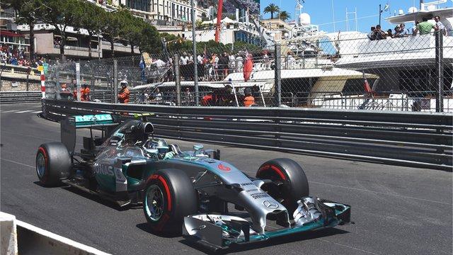 Nico Rosberg cleared after Monaco pole investigation  _75080742_rosbergv2