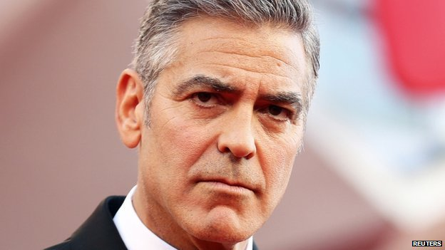Exclusive: George Clooney rejects 'Mail' apology _76201607_clooney1_reuters