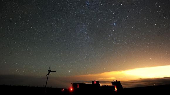 "Un statut de ""ciel sombre"" Coll wins 'dark sky' astronomy status Article_img"