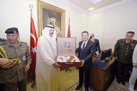 وزير الدفاع التركي يستقبل نظيره الكويتي في العاصمة أنقرة Kuwait-turkey