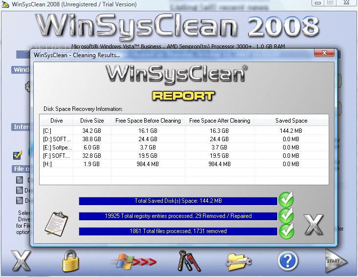 WinSysClean 2008 v8.0 WinSysClean_10large