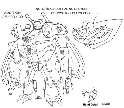 Images du design des personnages de Transformers Animated Blackout_1223045289