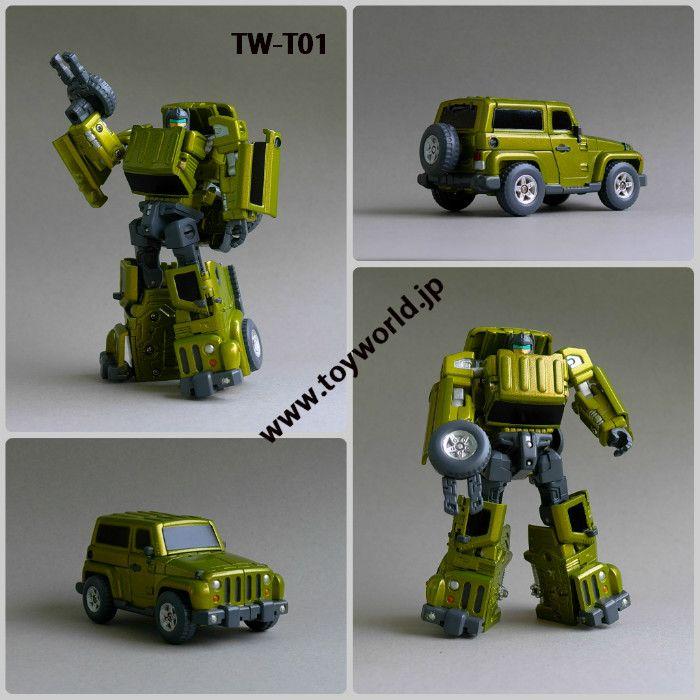 [ToyWorld] Produit Tiers - Jouet tiers Throttlebots Twt01-1_1335642428