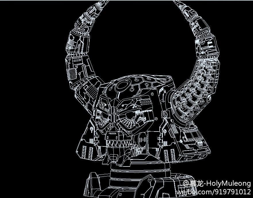 Produit Tiers - Statues, Décors ou Objets TF - Par: Boss Legend, Titanium Alloy, Fext System, etc Evil_1378816798