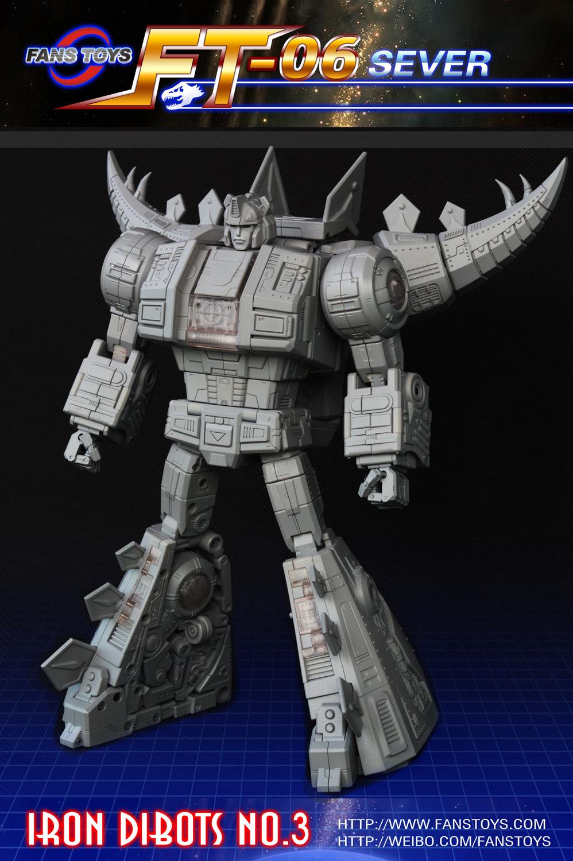 [Fanstoys] Produit Tiers - Dinobots - FT-04 Scoria, FT-05 Soar, FT-06 Sever, FT-07 Stomp, FT-08 Grinder - Page 3 27458013d1407157866-fantoys-sever-snarl-announced-ft06-01_1407170725