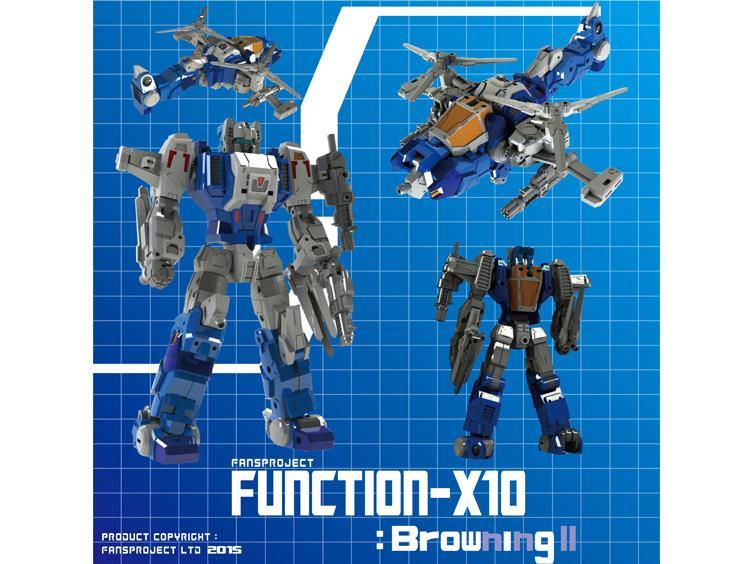 [FansProject] Produit Tiers - Jouets TF de la Gamme Function X - aka Headmasters G1 - Page 2 Browning-2