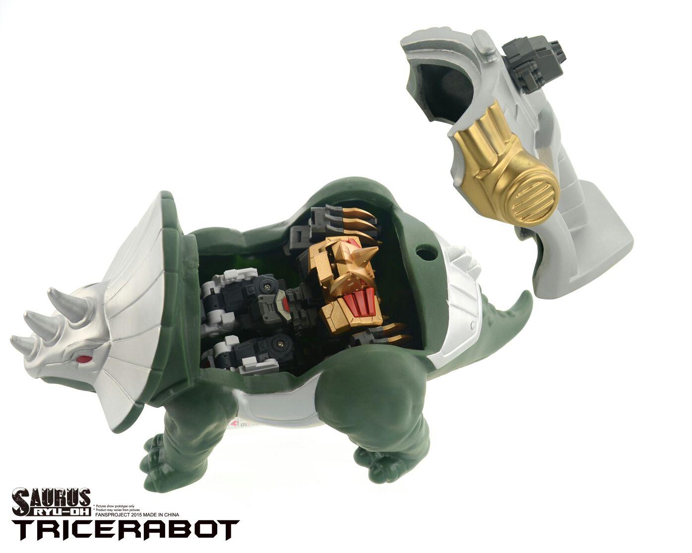 [FansProject] Produit Tiers - Jouet Saurus Ryu-oh aka Dinoking (Victory) | Monstructor (USA) Dinoichi-Shell-01