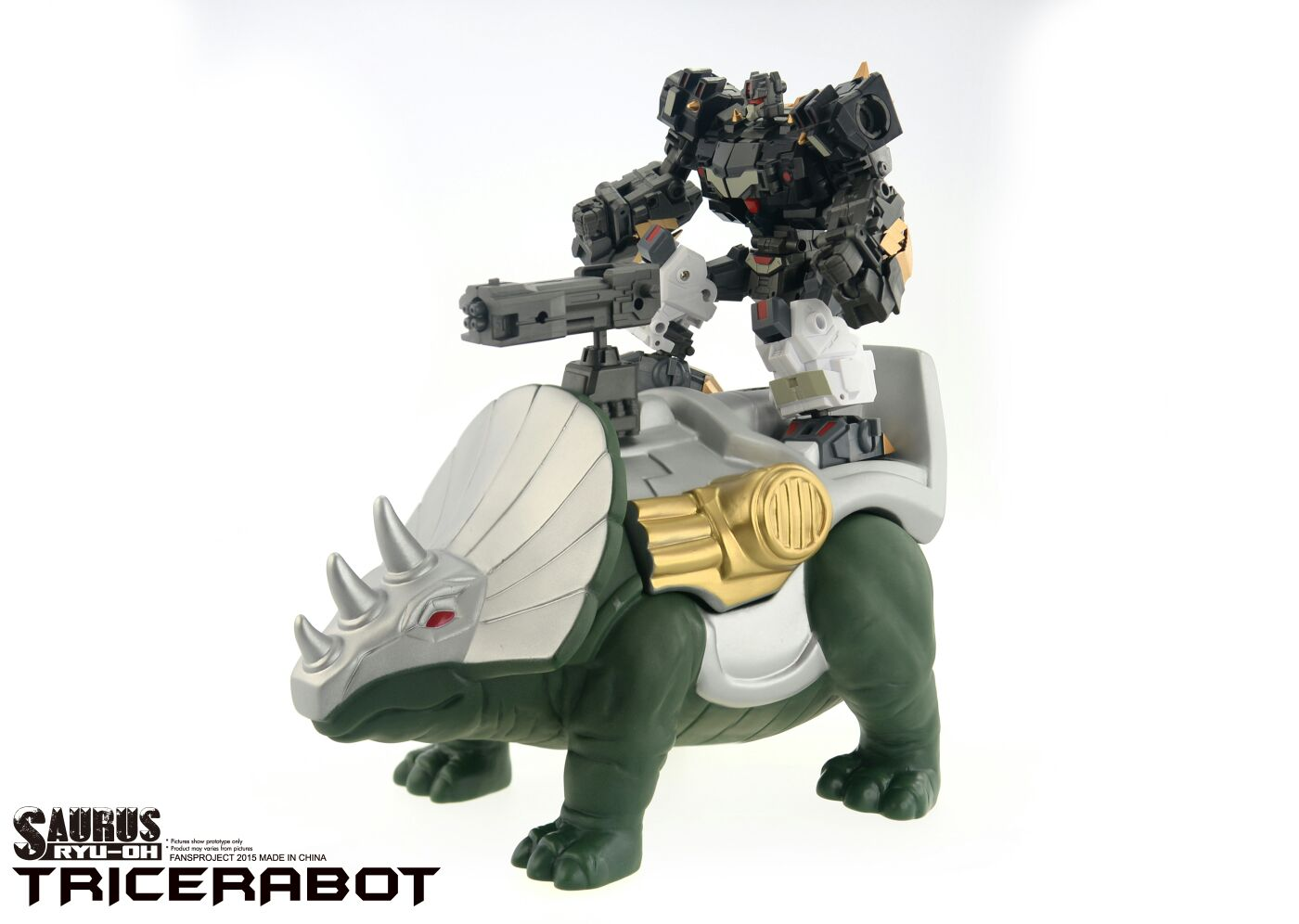 [FansProject] Produit Tiers - Jouet Saurus Ryu-oh aka Dinoking (Victory) | Monstructor (USA) Dinoichi-Shell-02