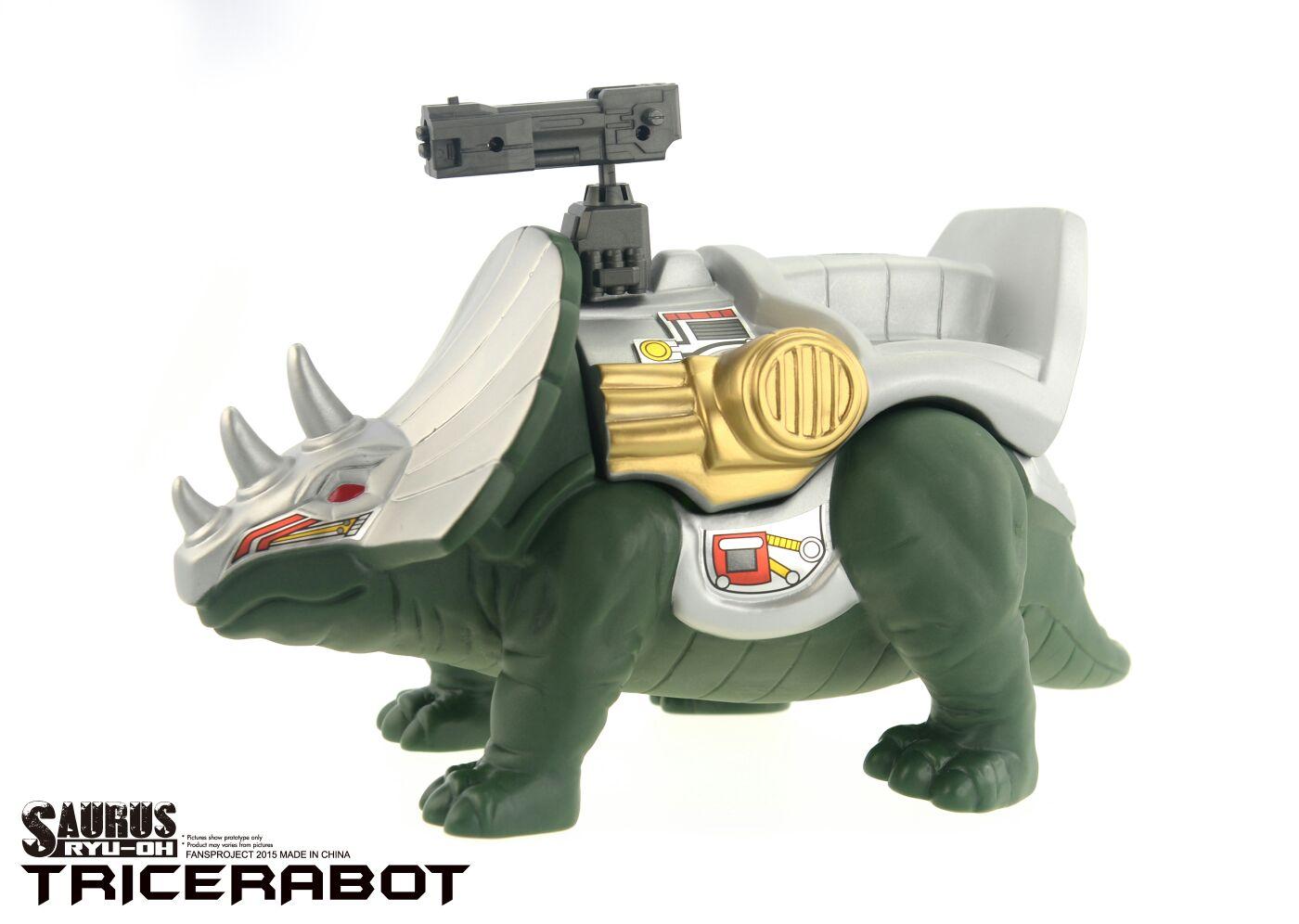 [FansProject] Produit Tiers - Jouet Saurus Ryu-oh aka Dinoking (Victory) | Monstructor (USA) Dinoichi-Shell-03