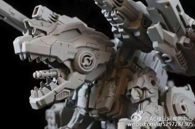 Produit Tiers - Figurine miniature déformé (transformable) - Par: Hero Hobby + MiniPower + Master Made MasterMade-Rex-02