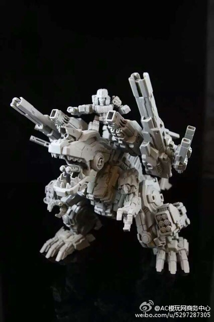 Produit Tiers - Figurine miniature déformé (transformable) - Par: Hero Hobby + MiniPower + Master Made MasterMade-Rex-03