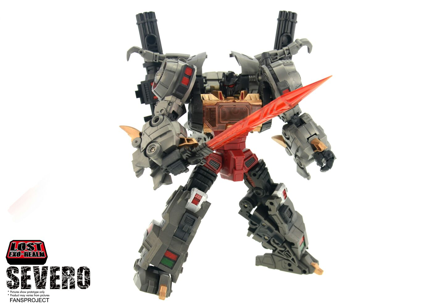 [FansProject] Produit Tiers - Jouets LER (Lost Exo Realm) - aka Dinobots - Page 2 Severo-2