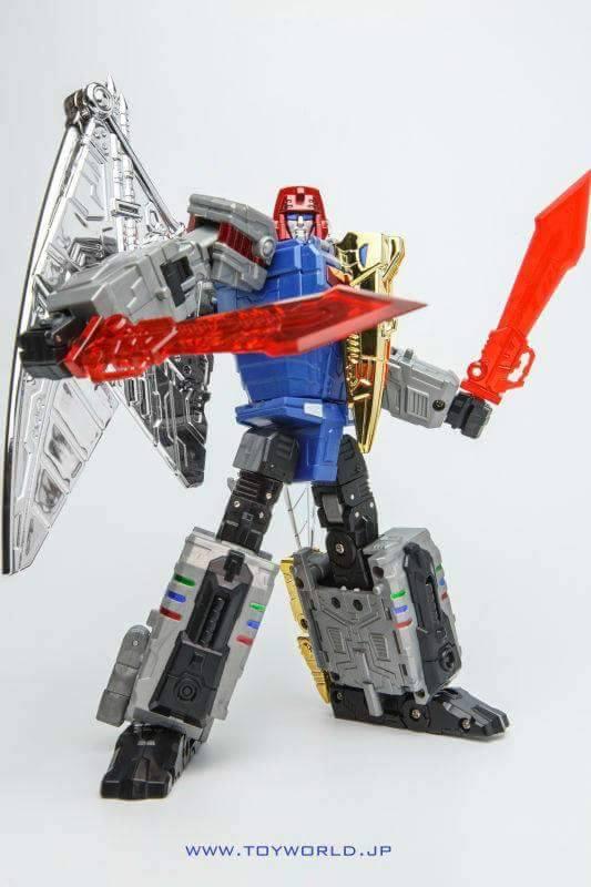 [Toyworld][Zeta Toys] Produit Tiers - Jouet TW-D aka Combiner Dinobots - Page 2 ToyWorld-Swoop-Colored-Prototype