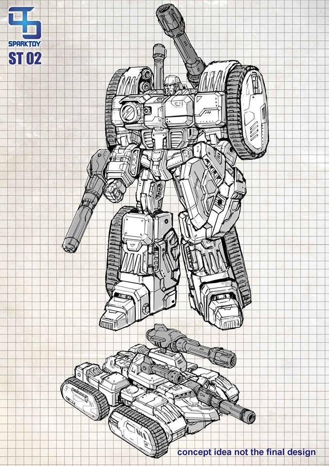 [SparkToys] Produit Tiers - ST - aka War Within: Optimus, Mégatron, Grimlock/La Menace, etc War-Within-Megatron