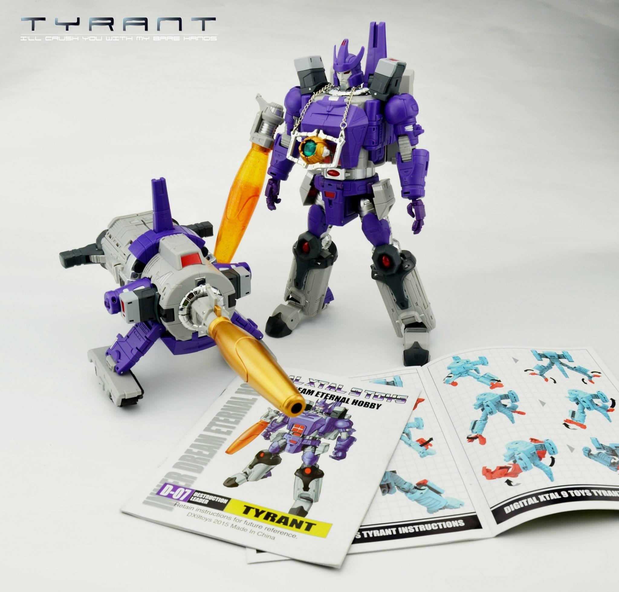 [DX9 Toys] Produit Tiers - D07 Tyrant - aka Galvatron Image31