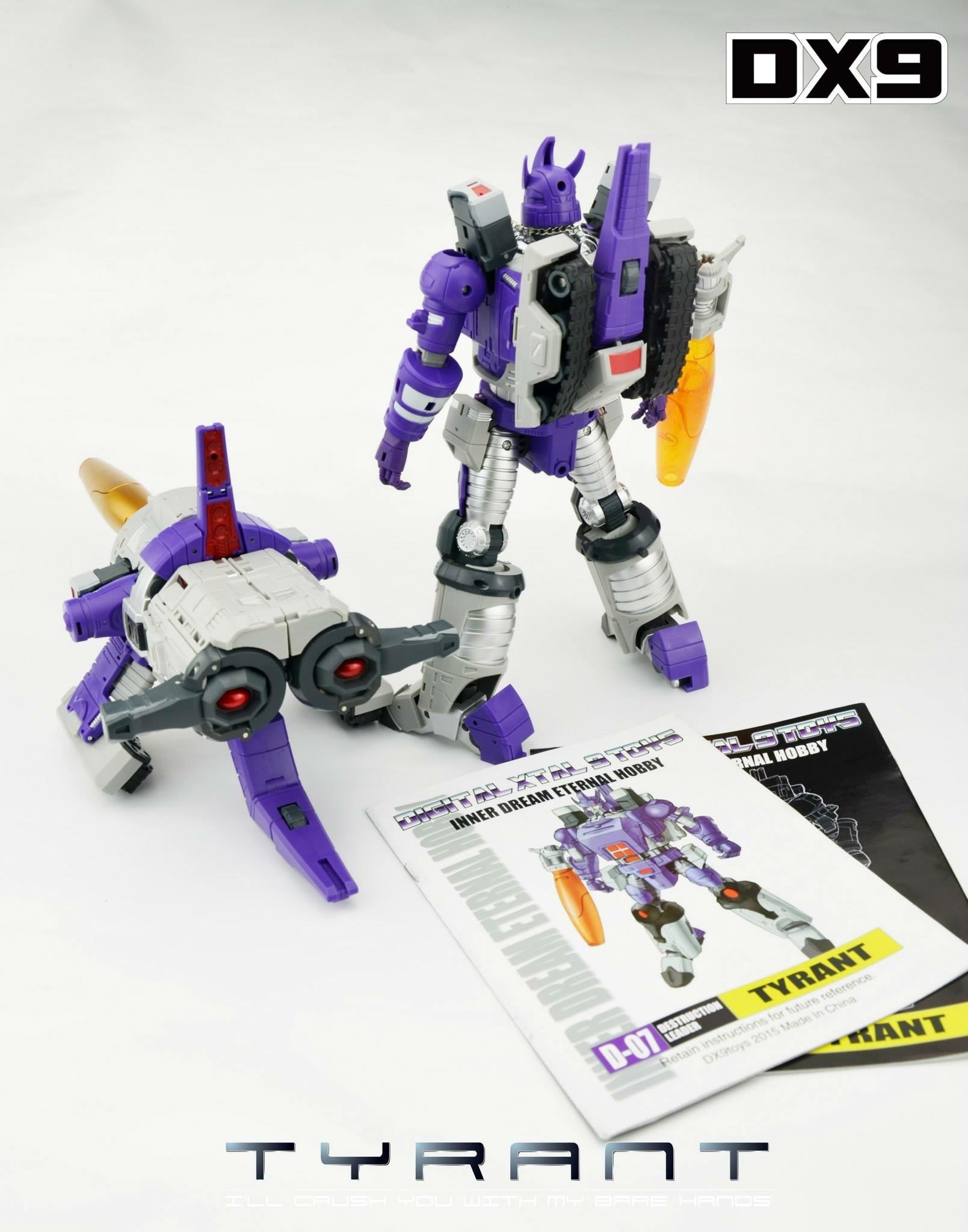 [DX9 Toys] Produit Tiers - D07 Tyrant - aka Galvatron Image32